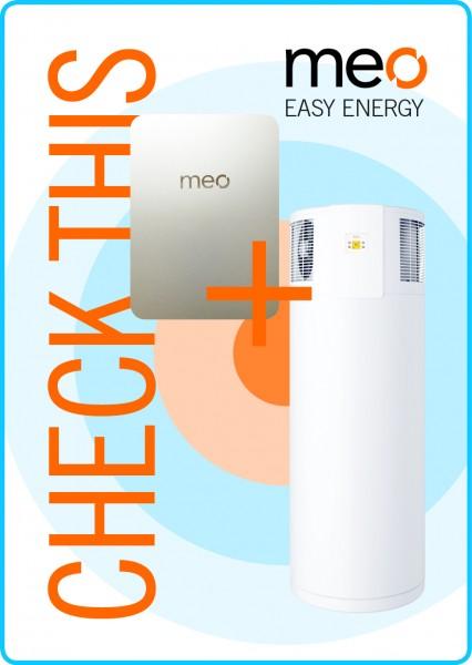 Aktionspaket: meo BOX und Brauchwasser-Wärmepumpe