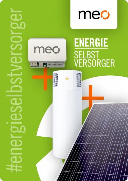 Aktionspaket: meo MINI, Fotovoltaik und Brauchwasser-Wärmepumpe
