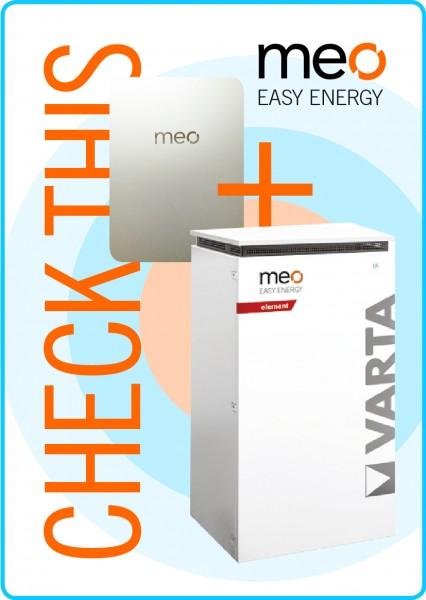 Aktionspaket: meo BOX und Batteriespeicher