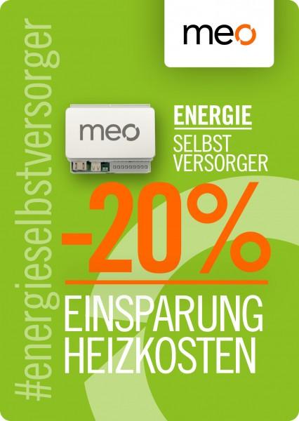meo MINI: Intelligente Heizungssteuerung